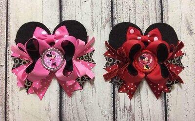 Minnie Mouse Hair Bow (5