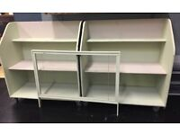 2 x Purpose Build Shop Retail Display Stands Painted