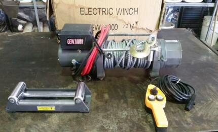 Electric Car Trailer Winch (New in Box)