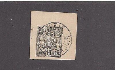 TUNISIA - 13 USED ON POSTCARD  -  1888 - 1902