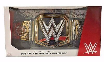 WWE World Heavyweight Championship Title Belt Adult Full Size Prop Replica (Wwe Replica Championship Belts)