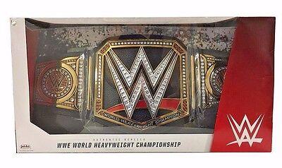 WWE World Heavyweight Championship Title Belt Adult Full Size Prop Replica NEW