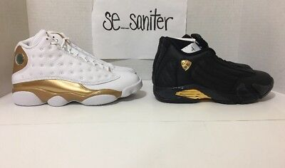 Nike Air Jordan 13/14 DMP Finals Defining Moments Pack Retro 897563-900 Size 7