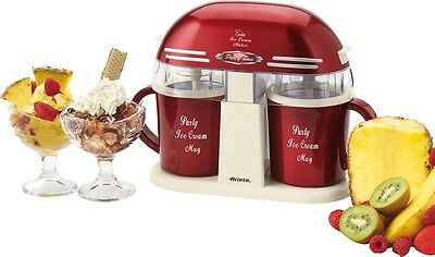 Macchina gelato Ariete Twin Ice cream maker gelatiera doppia 2 gusti 631 - Rotex
