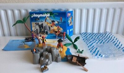 Playmobil - 4139 - Complete - Pirate Island