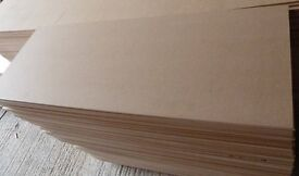 10 Pieces of New 10mm MDF 48in x 17in (1220mm x 440mm)