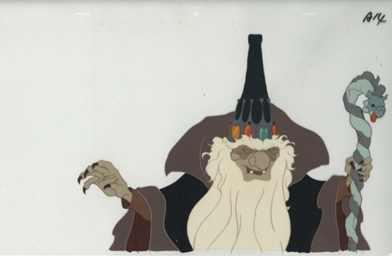 Anime / Animation Cel Last Unicorn #170