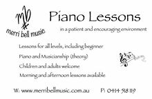 Piano Lessons in Wallsend, NSW Wallsend Newcastle Area Preview