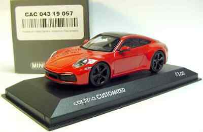 Minichamps 1 of 200 C car.tima EXCLUSIVE indischrot Porsche Cayman GT4