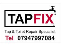 Tapfix Plumbing. Tap and Toilet repair Specialist. 7 days a week 24 hour plumber