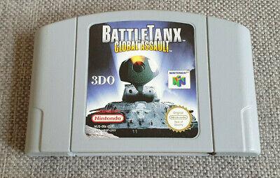 Nintendo 64 N64 Game Battletanx Global Assault