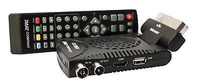DVB-T2 FULL HD TV H.265 Receiver Scart HDMI USB HEVC terrestrischer