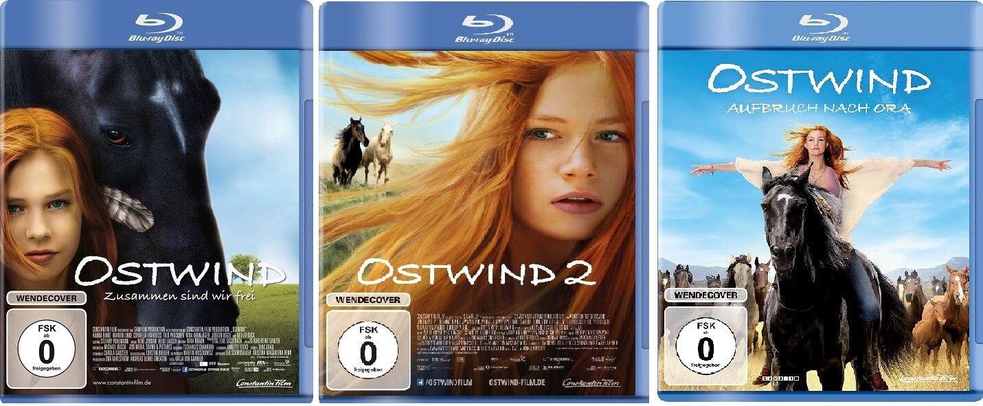 3 Blu-rays * OSTWIND 1 + 2 + 3 Aufbruch nach Ora  IM SET Hanna Binke # NEU OVP +