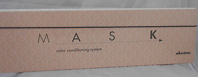 DAVINES MASK Color Conditioning System SWATCH CHART ~ Official New Compact Size!