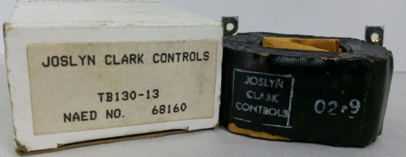 JOSLYN CLARK CONTROLS TB130-13 MOTOR CONTROL COIL STARTER