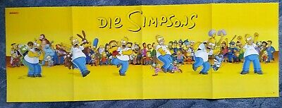 Used, Schönes Panorama Poster von The Simpsons/Die Tribute von Panem *Hunger Games* for sale  Shipping to Nigeria