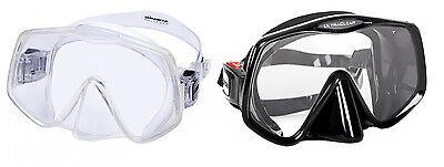 Atomic Aquatics Frameless 2 - rahmenlose Einglasmaske mit Ultraclear Gläsern