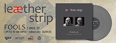 "LEAETHER STRIP FOOLS - A tribute to Alan Wilder 12"" GREY VINYL 2015"