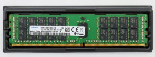 32GB Samsung DDR4 2400MHz SERVER ECC REG RDIMM 2Rx4 RAM M393A4K40BB1-CRC0Q U