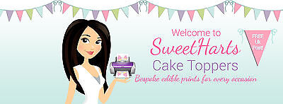 SweetHarts Cake Toppers