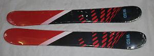 Skiboards snowblades WSD 100cm red dots wide 2016 model flat skiboards NEW
