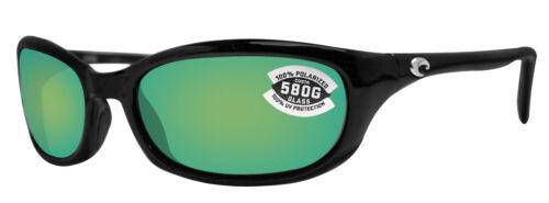 Costa Del Mar Harpoon Black W/ Green Mirror Polarized 580G G
