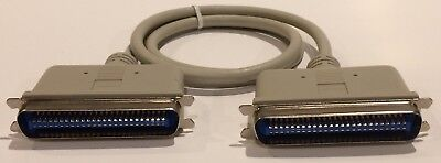 Cable Molded Ends - SCSI Cent 50 Male to Male 3 ft cable Molded Ends