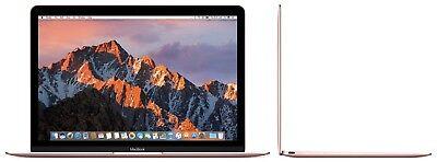 Apple Macbook 12-inch Retina Display Intel Core m3 256GB - Rose Gold (Mid-2017)