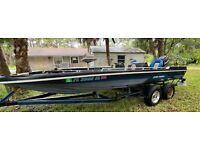 1984 Cajun Striker 20' Bass Boat & Trailer - Florida
