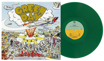 GREEN DAY DOOKIE TRANSLUCENT GREEN COLORED VINYL LP