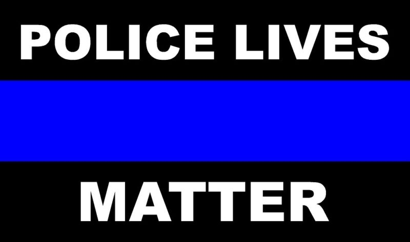 THIN BLUE LINE POLICE LIVES MATTER COP COPS VINYL AUTO DECAL STICKER STICKERS