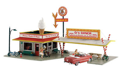 Woodland  N Scale  Landmark Structure Kits  5208 Ds Diner