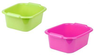 High Grade 12Lt Plastic Rectangular Washing Up Bowl