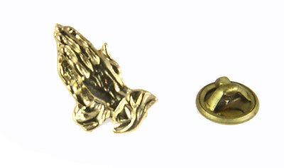 Christian Pins (6030094 Praying Hands Christian Lapel Pin Tie Tack Religious Church Jesus)