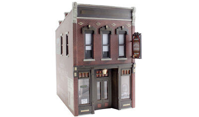 Woodland Scenics BR5850, O Scale, Sully's Tavern, Built & Ready Structure w/LEDs for sale  Taunton