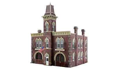 Woodland Scenics BR4934, N Scale, Firehouse Built-&-Ready Structure, 4934