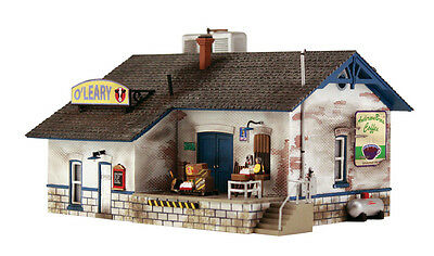 Ho Scale   Oleary Dairy Distribution    Pre Fab Landmark Structure Woodland