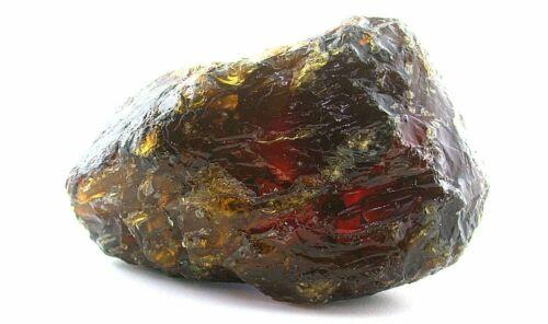 87.6 Gram 438 Carat 3 1/3 Inch Natural Golden Amber Cabochon Gem Rough CS409