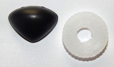 """Sicherheitsnase / Teddynase aus Kunststoff - 15 x 10 mm (Ausführung """"normal"""")"""