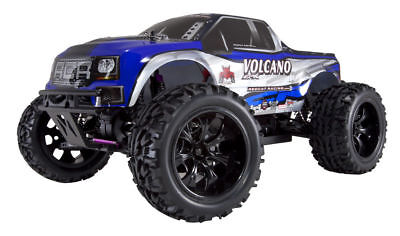 Redcat Racing Volcano EPX 1:10 Scale Electric Brushed 19T RC Monster Truck *Blue