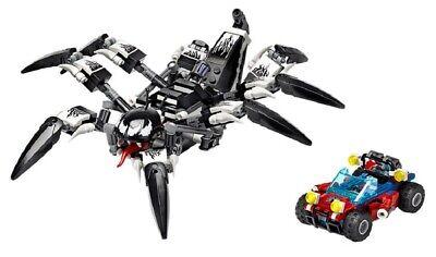LEGO MARVEL SUPER HEROES VENOM CRAWLER 76163 LOOSE SET NO MINIFIGURES NO BOX