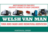 Welsh Van Man: For all your transport needs.