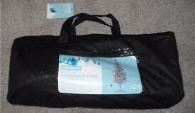 New 3ft 9inch Silver Christmas Tree in a bag