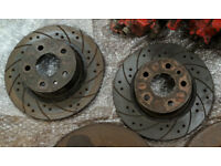 Alfa 147 & Early 156 Drilled/Grooved Rear Discs Used