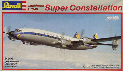 Revell 1:144 Lockheed L.1049 Super Constellation Plastic Model Kit 4237U