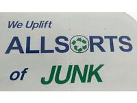 Allsorts of junk waste and rubbish removal service