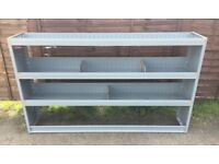 Van Racking / Shelving - TGS - 3 Shelves With Dividers & Liners - Good Condition - Heavy Duty