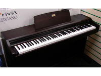 Casio Celviano AP-33 Digital Piano in rosewood, full size hammer action keys and 3 pedals, high spec
