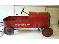 Triang early pedal car