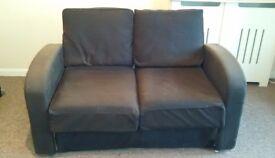 FREE Black Canvas 2 seat sofa FREE
